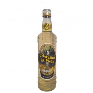 Aguardente de Melado Cristalina do Picão Ouro 670 ml