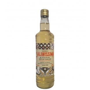 Cachaça Saliníssima Ouro 670 ml