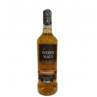 Cachaça Weber Haus Amburana Orgânica 700 ml