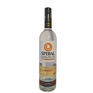 Gin Spiral London Dry 750 ML