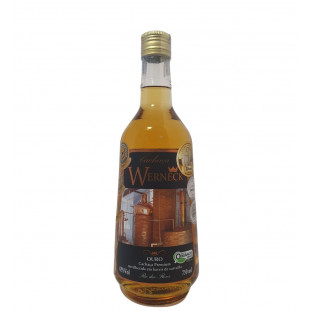 Cachaça Werneck Ouro 750 ml