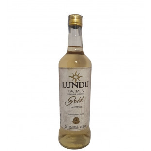 Cachaça Lundu Gold 700 ml