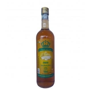 Bebida Mista de Banana e Cachaça Rainha da Cana 700 ml