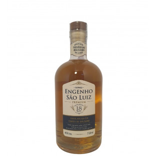 Cachaça Engenho São Luiz Premium Bálsamo 750 ml
