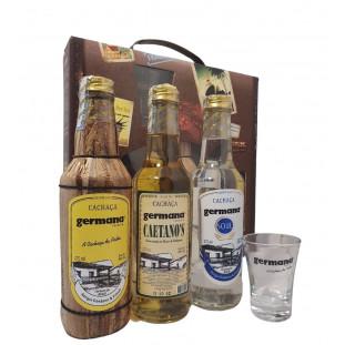 Kit Germana Vintage 3 Unidades 275 ml