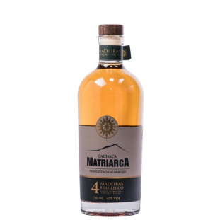 Cachaça Matriarca Blend 4 Madeiras 750 ml