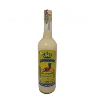 Bebida Mista de Coco com Abacaxi e Cachaça Rainha da Cana 700 ml